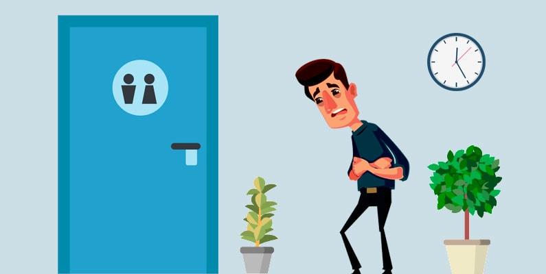 Den akutte diarré kan afhjælpes med Imodium – klassikeren