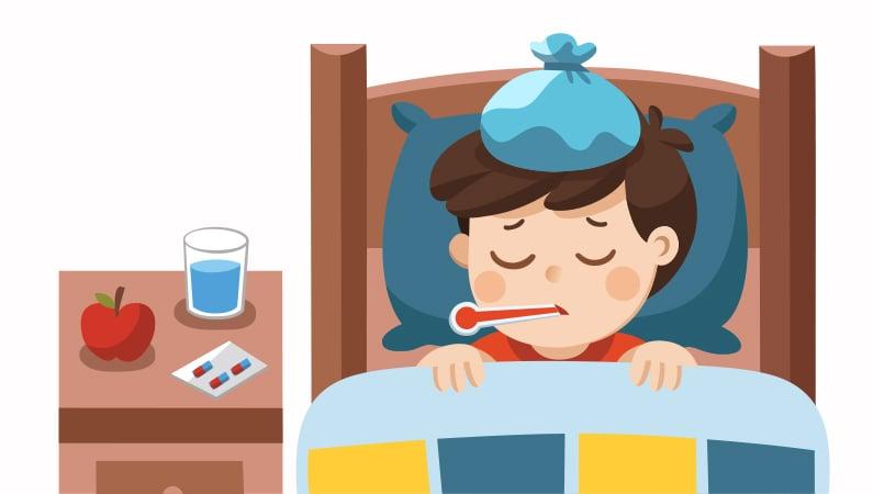 Hvornår og hvordan skal man reagere på feber hos børn?