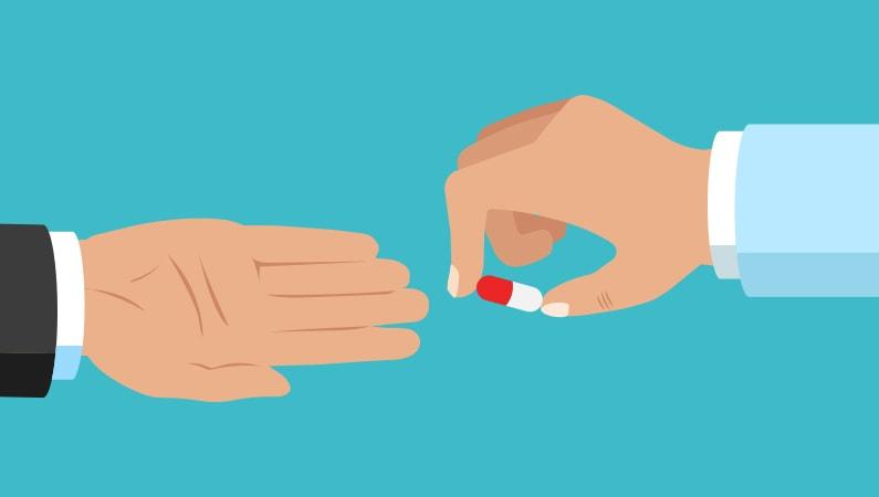 Begræns pilleforbruget
